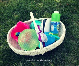 kid activity basket