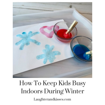 Inside Activities for kids for winter