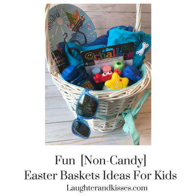 Fun [Non-Candy] Easter Baskets Ideas For Kids