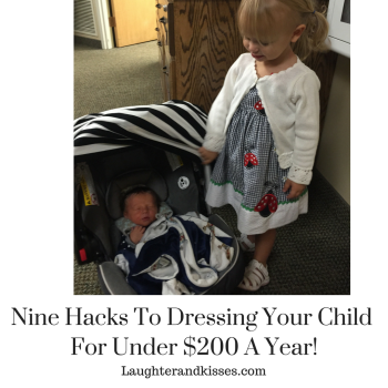 Nine hacks to dressing your child to the Nines for under $200 a year!4