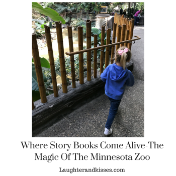 Where story books come alive! The magic of the Minnesota Zoo