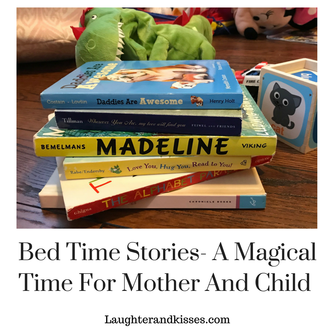 Bed Time Stories- A Magical Time For Mother And Child