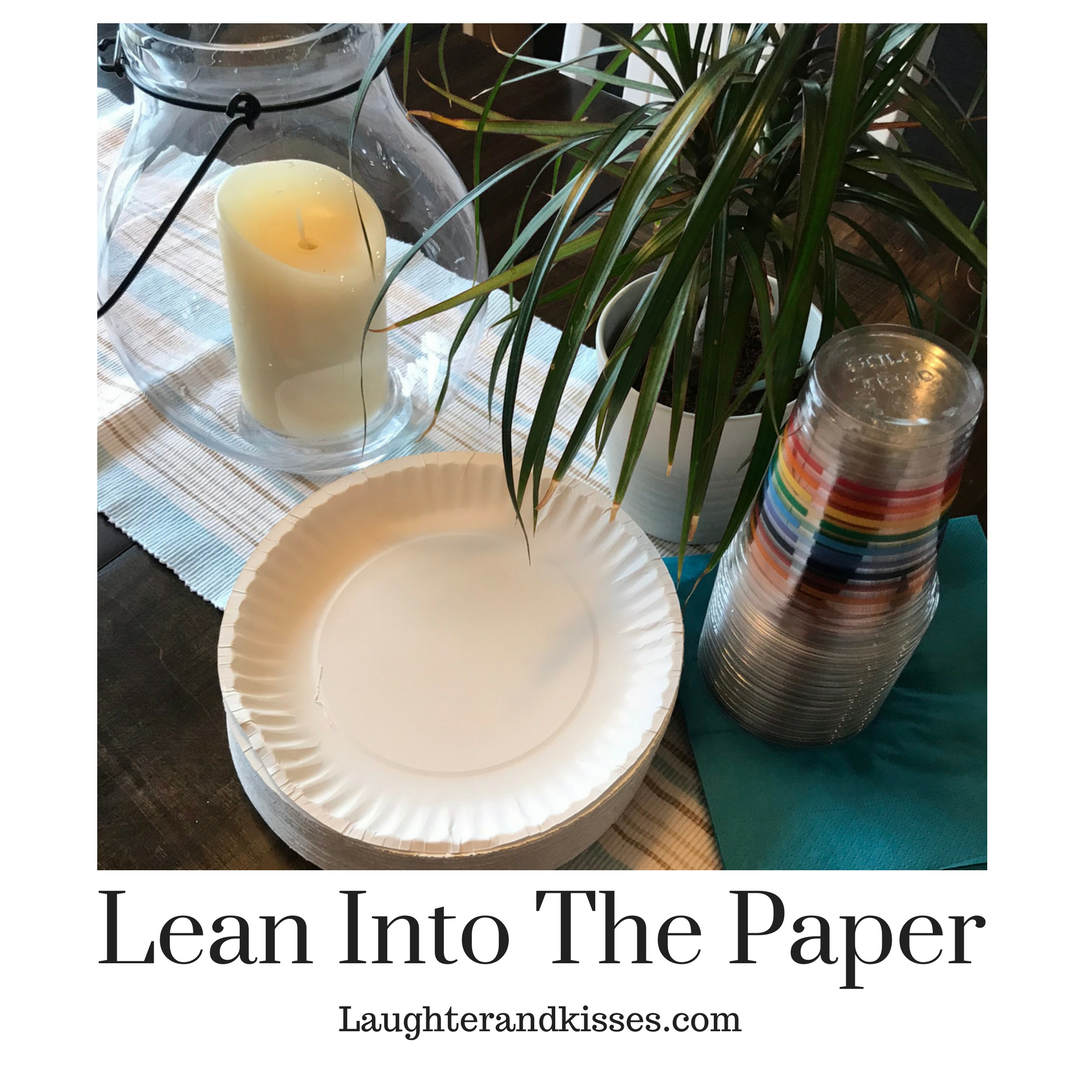 Lean Into The Paper