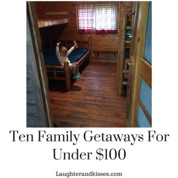 Ten Family getaways for under $1006