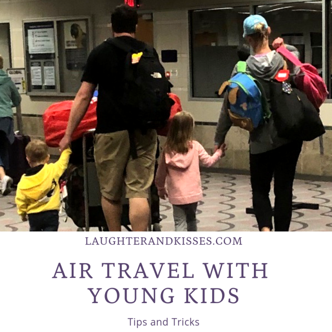 air travel with young kids