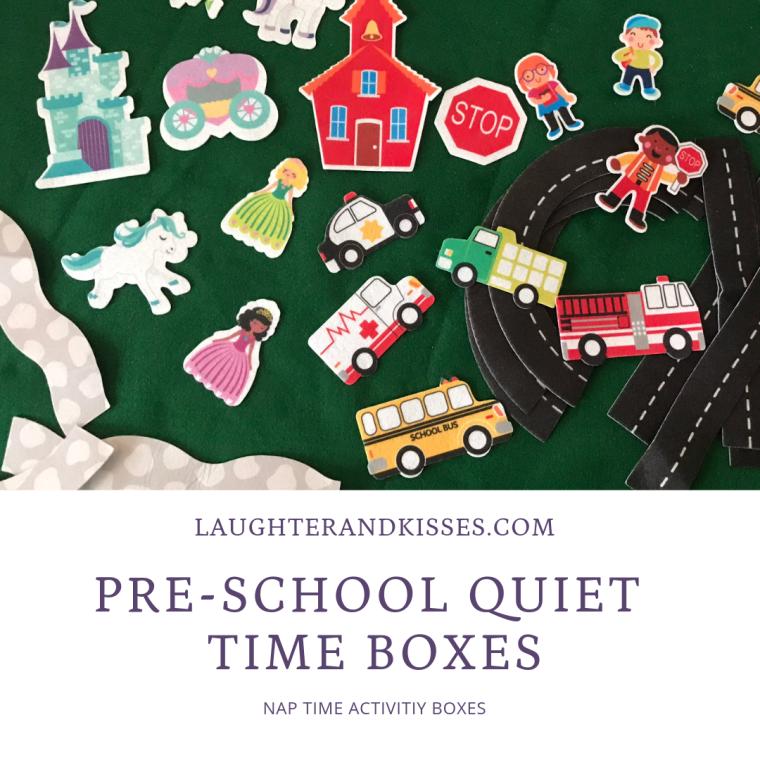 Pre-school Quiet time Boxes