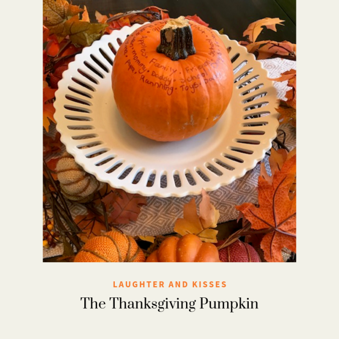 the thanksgiving pumpkin