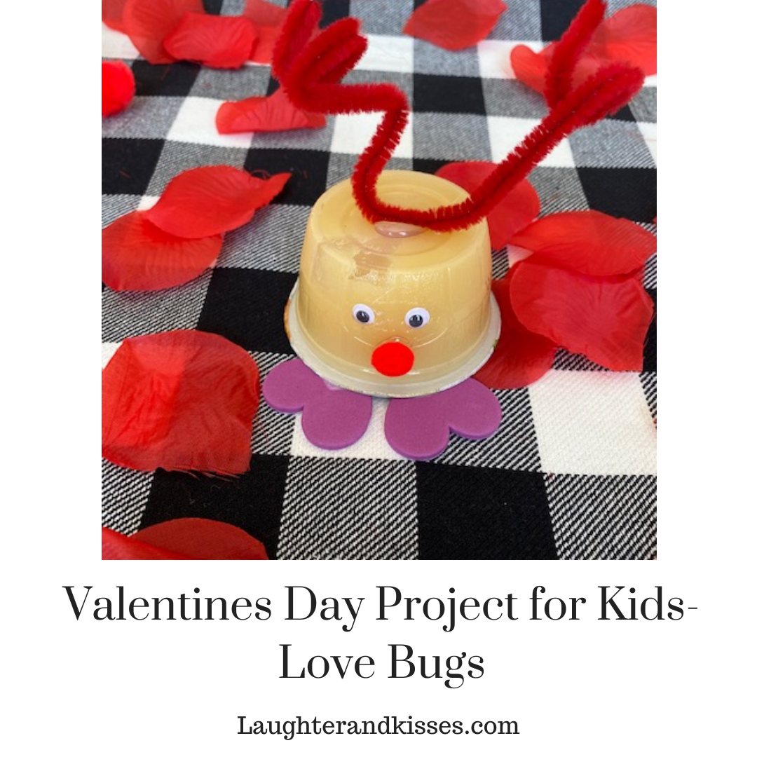 Valentines Day Project for Kids- Love Bugs