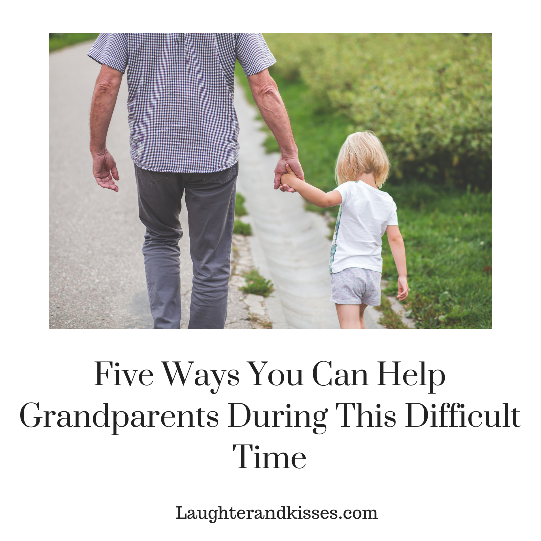 Five ways you can help grandparents during this difficult time